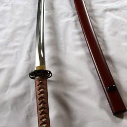 Iaito A-Leger Tsuka Seda / Cuero