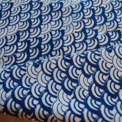 Tenugui Nami  japanese fabric kendo