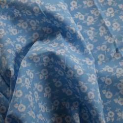Tenugui-Asagao-Volubilis Bleu