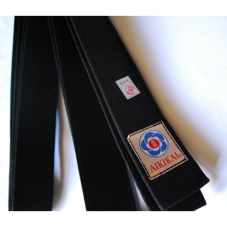 Ceinture de Aikido noir