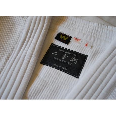 Iwata keikogi 3K-chaqueta crudo