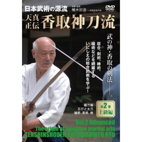 DVD Tenshin Shoden Katori Shinto ryu N°2