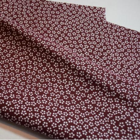 Tenugui Sakura- rojo cereza oscuro