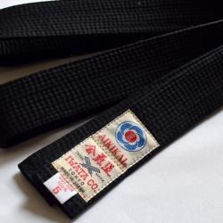 Cinturón Aikido negro-Iwata