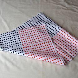 Ténugui Mamé - Point Red + Blue