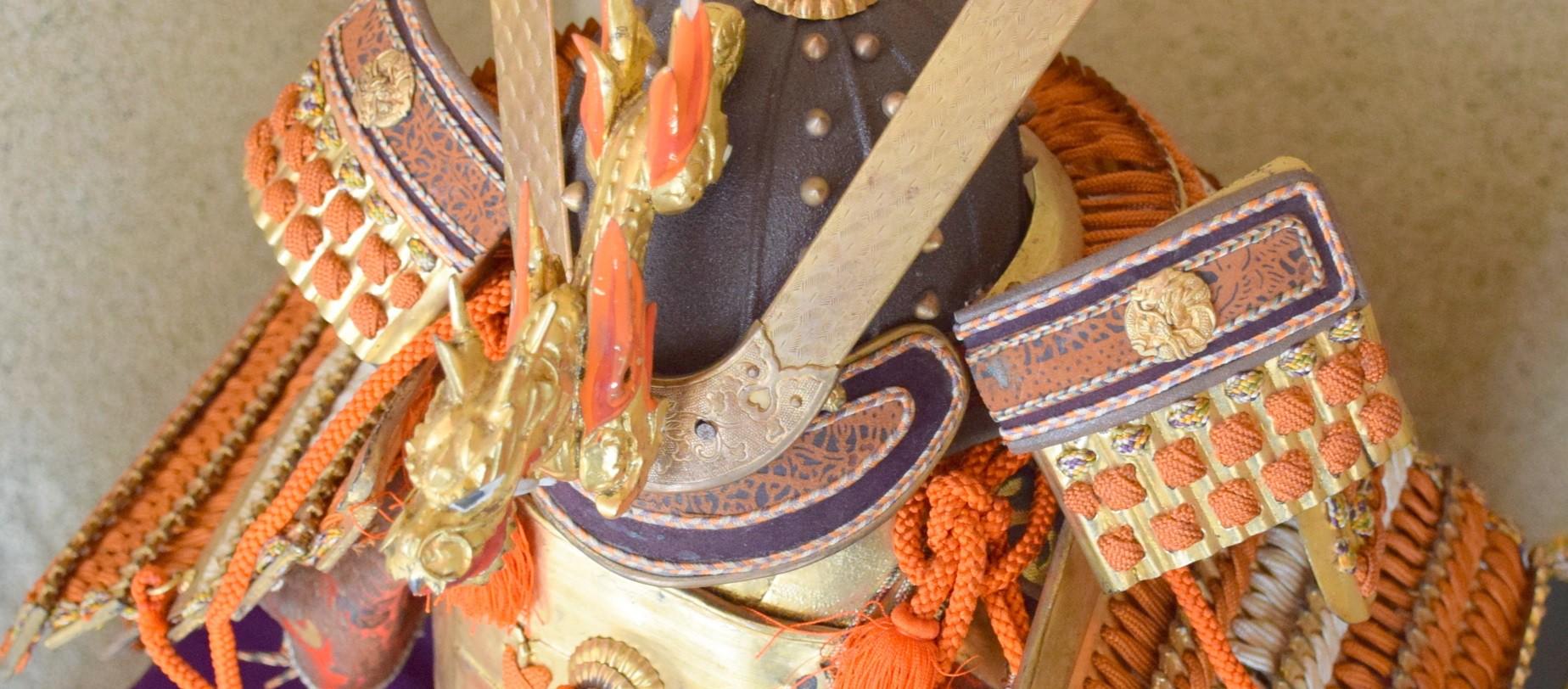armadura japonesa yoroi kabuto