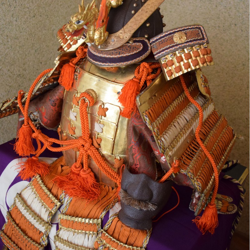 Yoroi Kabuto Japanse Ornamental Armour Samurai