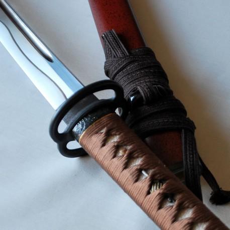 IAITO model b -  heavy Tsuka soie ou cuir