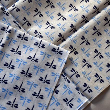Tenugui Tombo dragonfly White