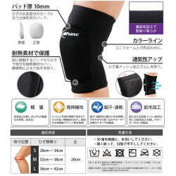 Knee guard iaido