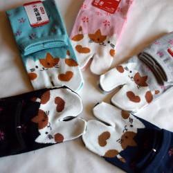 Calcetines japonés  TABI neko