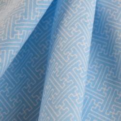 Tenugui-SAYAGATA bleu