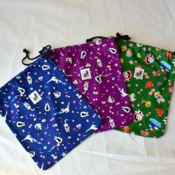 Zori Bag japanese fabric NEKO