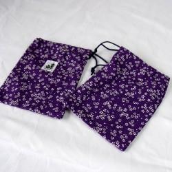 Housse pour passeport kimono SAKURA VIoleta