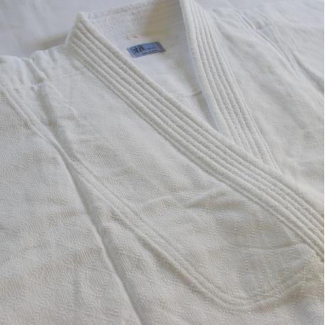 Iwata keikogi miyabi blanco chaqueta