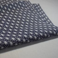 Tenugui-Asa bleu foncé