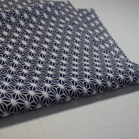 Tenugui-Asa dark blue