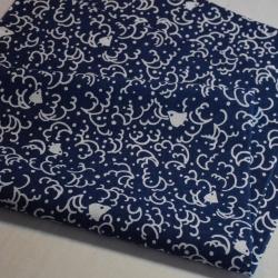 Tenugui Chidori navy blue