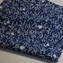 Tenugui-Chidori bleu foncé