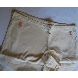 IWATA Pantalones Aikido Keikogi W500W-crudo
